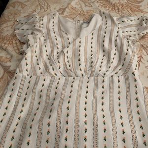 Forever21 cute white dress 3XL